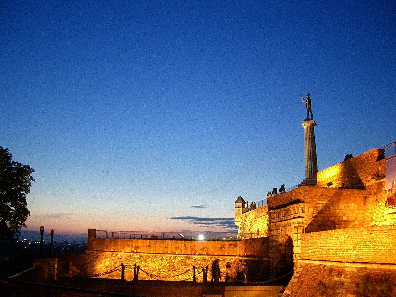 Калемегдан, споменик Побједник, Биоград.jpg