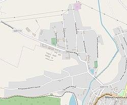 Фільварки на сучасній мапі Монастириськ