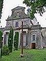 Новий Милятин.Костел Воздвиження Чесного Хреста .Фасад.jpg