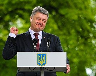 Petro Poroshenko - Petro Poroshenko in Poltava