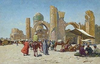 Samarkand - Samarkand, by Richard-Karl Karlovitch Zommer