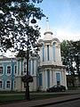 Санкт-Петербург. Смольный монастырь. Башня ограждения..JPG