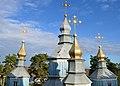 Синява. Миколаївська церква. 1730 р. Верхи.jpg