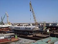 Суда на зимнем отстое в порту Якутска (1).JPG