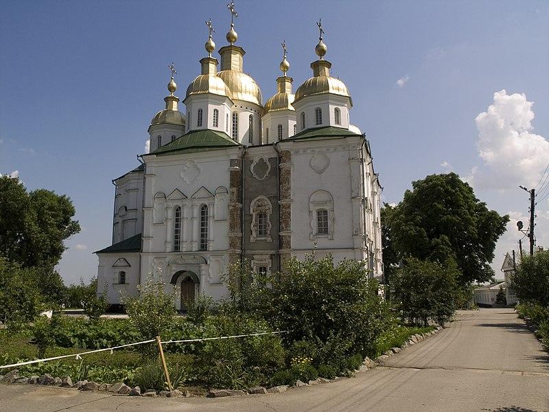 File:Украина, Полтава - Крестовоздвиженский монастырь 08.jpg