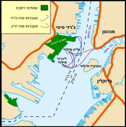מפת מיקום הפסל