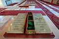 آرامگاه شهدای هفتم تیر در بهشت زهرای تهران - عکس سنگ قبر شهید رجایی و باهنر.jpg