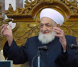 Ahmed Kuftaro Grand Mufti of Syria