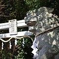 八幡神社の狛犬 大淀町下渕 2013.2.09 - panoramio.jpg