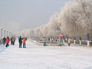 Jilin City - Snow in Jilin City