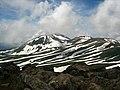 旭岳とゼブラ模様(Mt. Asahi and a striped pattern) - panoramio.jpg