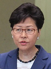 Hong Kong's Chief Executive Carrie Lam