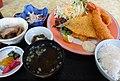 魚菜食堂のフライ定食 (愛知県知多郡南知多町篠島) - panoramio.jpg