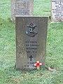 -2020-12-13 Norwegian war grave for Eivind Edvardsen, Saint Andrew's, Bacton.JPG