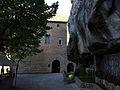 037 Plaça de l'Abadia, casa del priorat, balma i rec (Sant Miquel del Fai).JPG