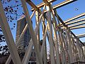 079 Vila Olímpica, pont i Hotel Arts.JPG