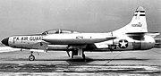 103d Fighter-Interceptor Squadron Lockheed F-94C-1-LO Starfire 51-3562