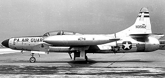 103d Fighter Squadron - F-94C 51-3562 about 1959