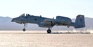 175th Wing - An A-10C assigned to the 104th Fighter Squadron