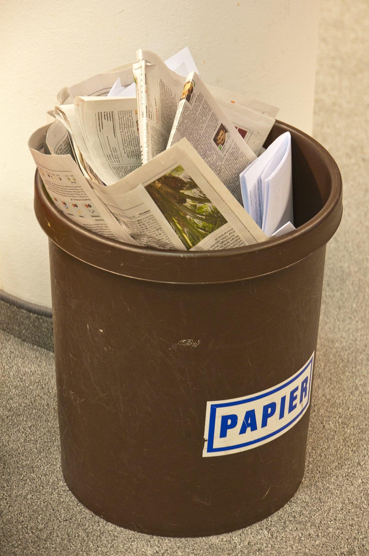 Papiermüll