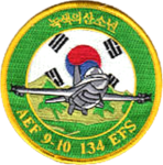 134th Expeditionary Fighter Squadron - Korea Deployment - 2007.png