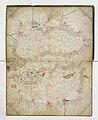 1466 Portolan chart of the Black Sea, Sea of Marmara and the Eastern Mediterrenean by Grazioso Benincasa.jpg