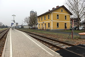 Mureck - Train station