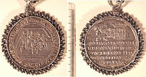 Capture of Breda (1590) - Coins celebrating the capture