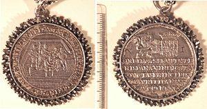 Capture of Breda (1590) - Coins celebrating the capture