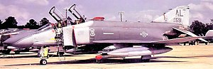 187th Fighter Wing - 160th Tactical Fighter Squadron - McDonnell F-4D-30-MC Phantom, AF Ser. No. 66-7591