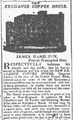 1823 ExchangeCoffeeHouse BostonDailyAdvertiser March14.png