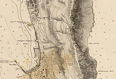 1831 - Gibraltar W.H. Smyth Moorish Tower detail.jpg
