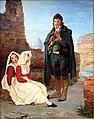 1834 Blechen Pifferaro und Mädchen in Rom anagoria.JPG