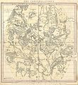 1856 Burritt - Huntington Map of the Constellations or Stars in July, August ^ September - Geographicus - JulAugSep-burritt-1856.jpg