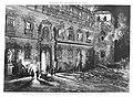1887-01-15, La Ilustración Española y Americana, Incendio del alcázar de Toledo, Aspecto de la fachada principal, Comba, Rico.jpg