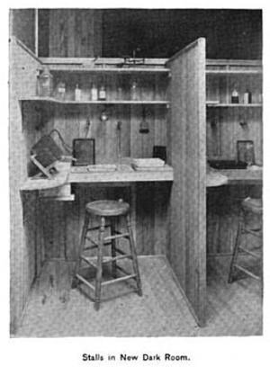 Boston Camera Club - Image: 1893 new dark room Boston Camera Club