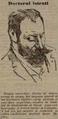 1899 - Constantin I Istrati la alegerea la Academie, sursa Adevărul, 12, nr. 3491, 9 aprilie 1899.PNG