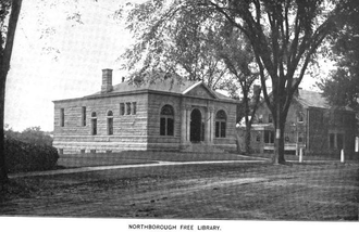 Northborough, Massachusetts - Northborough public library, 1899