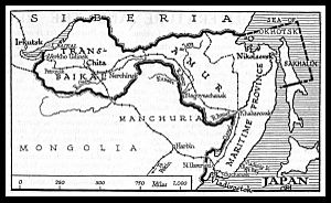 Far Eastern Republic - Territory of the Far Eastern Republic in 1922.