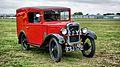 1934 Austin Seven van Wings and Wheels at Henstridge airfield.jpg