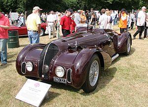 Mille Miglia - Alfa Romeo 6C 2300B Mille Miglia Spider, 1938