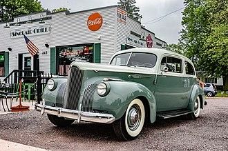 Packard One-Ten - 1941 Packard 110 Touring Sedan owned by Dean Teaster