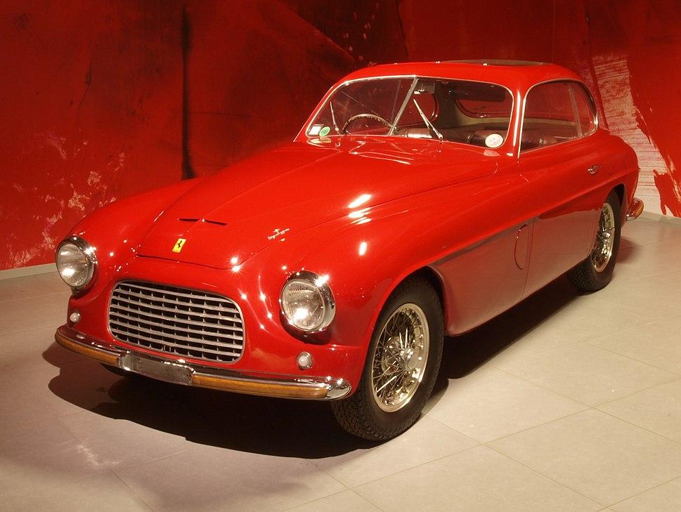 1949 Ferrari 166 Inter Coupé Touring p2
