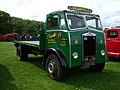 1950 Albion FT37L Chieftain (OVK 682) flatbed, 2012 HCVS Tyne-Tees Run.jpg