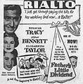 1951 - Rialto Theater Ad - 26 Apr MC - Allentown PA.jpg