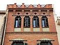 195 Casa Baltasar Gorina, c. Font Vella (Terrassa).JPG