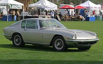 Pietro Frua - 1967 Maserati Mistral Coupe