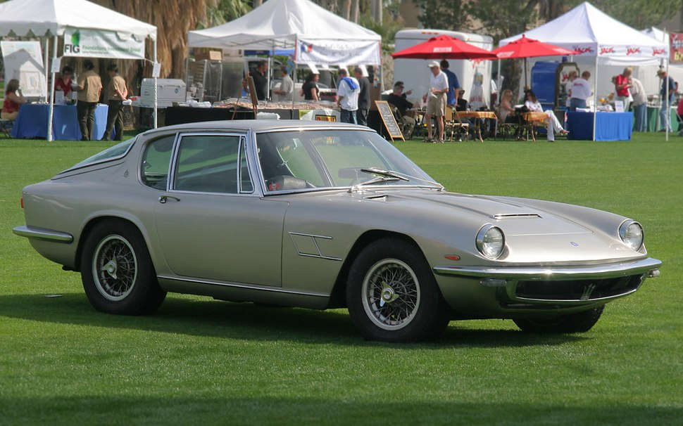 1967 Maserati Mistral Coupe - silver - fvr (4637057473) cropped