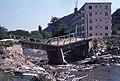 1976 Damaged bridge in Brasov, Romania.jpg