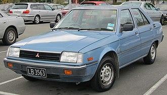 Mitsubishi Tredia - Image: 1983 Mitsubishi Tredia 1.6 GLS (8153098021)
